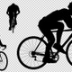Cycling Silhouette 4K (4-Pack) - VideoHive Item for Sale