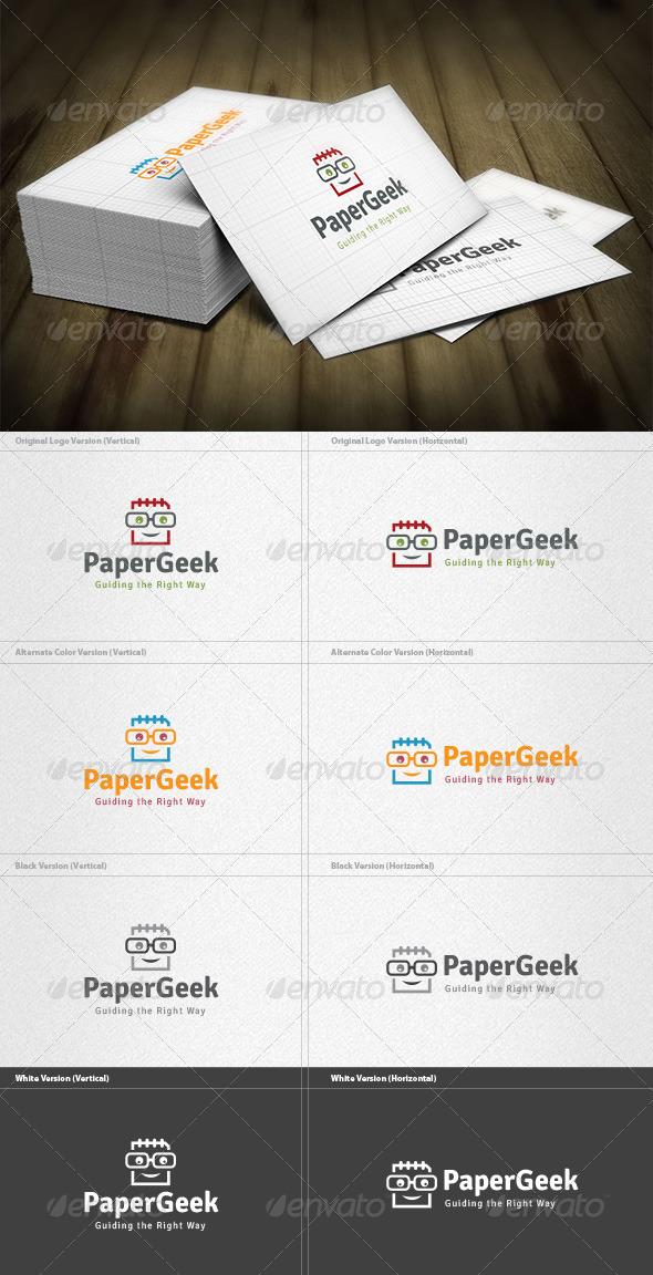 Paper Geek Logo