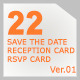 22 Save The Date Sets - GraphicRiver Item for Sale