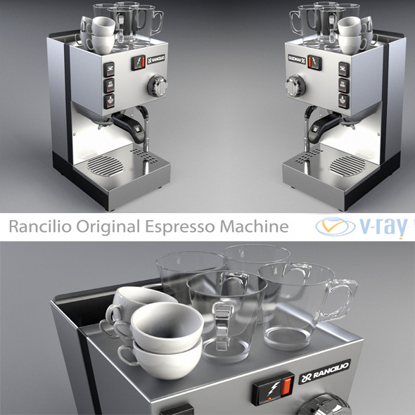 Coffee Machine CG Textures & 3D Models from 3DOcean