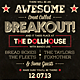 Breakout - Typography Flyer & Poster - GraphicRiver Item for Sale