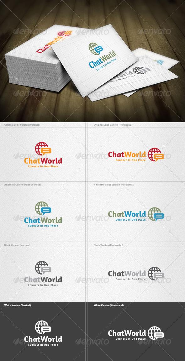 Chat World Logo