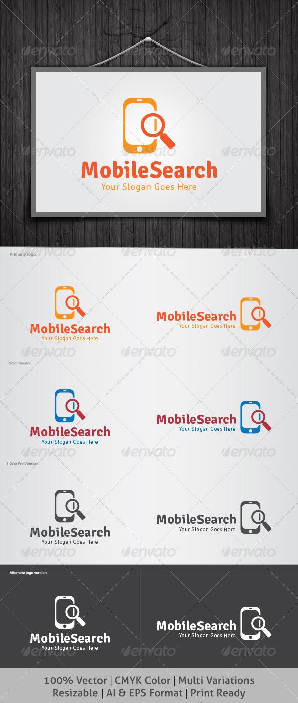 Mobile Search Logo