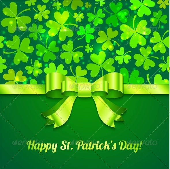Saint Patrick's Day Greeting Card