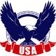 USA Eagle Badge - GraphicRiver Item for Sale