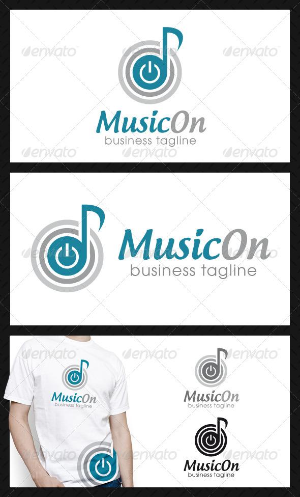 Power Music Logo Template