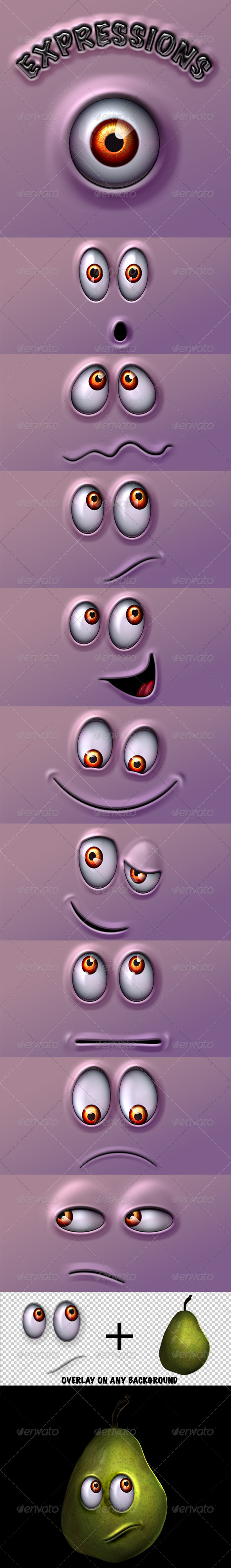 Character Expressions Pack