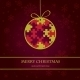 Christmas Card with Holiday Elements - GraphicRiver Item for Sale