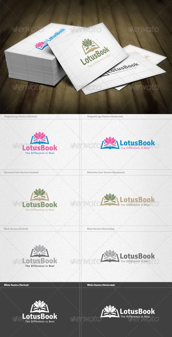 Lotus Book Logo