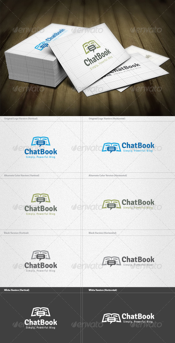 Chat Book Logo