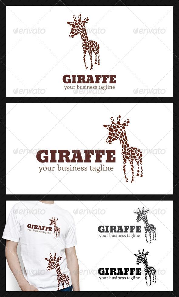 Giraffe Studio Logo Template