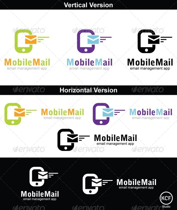 Mobile Mail Logo Design