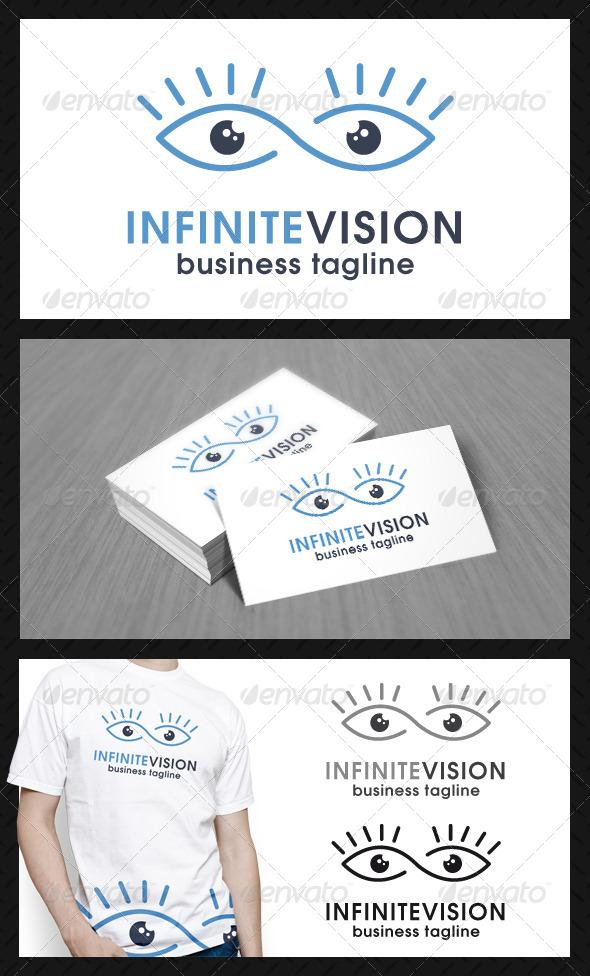 Infinite Eye Vision Logo Template