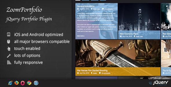 ZoomFolio - jQuery Portfolio Plugin
