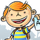 Kid with A+ - GraphicRiver Item for Sale