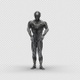 Sci-fi Man with Dancing Hiphop - VideoHive Item for Sale