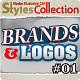 AI Styles Collection #04A: Brands & Logos #01 - GraphicRiver Item for Sale