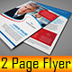 2 Page Business Flyer - GraphicRiver Item for Sale