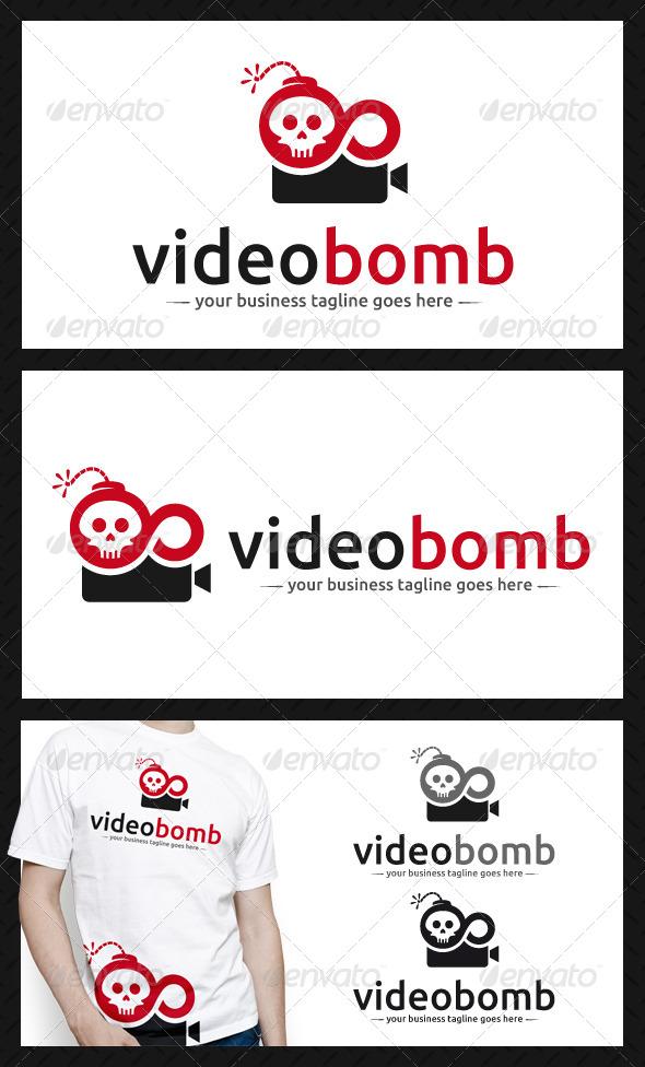Video Bomb Logo Template