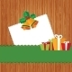Set Christmas Card with Holiday Elements. - GraphicRiver Item for Sale
