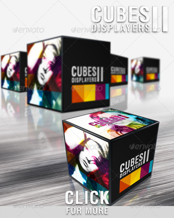 Box 3D and Cubo Graphics, Designs & Template from GraphicRiver