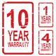 Extended Warranty Rubber Stamps - GraphicRiver Item for Sale