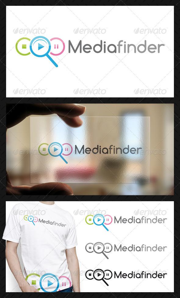 Media Finder Logo Template