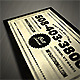 Vintage Typography Business Card - GraphicRiver Item for Sale