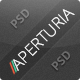 Aperturia - Portfolio PSD Template - ThemeForest Item for Sale