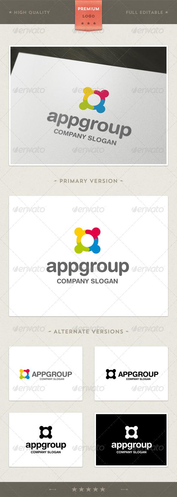 App Group Logo Template
