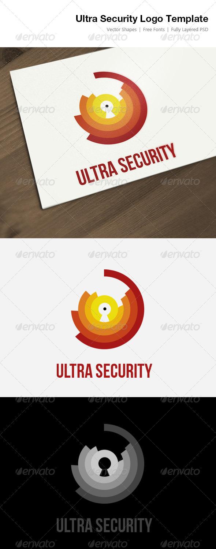 Ultra Security Logo Template