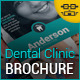 Dental Clinic Tri-Fold Brochure - GraphicRiver Item for Sale