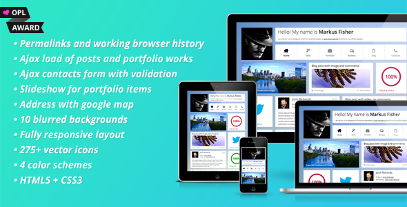 Frittata - Responsive Personal Template