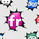 49 Crack Social Icons - GraphicRiver Item for Sale