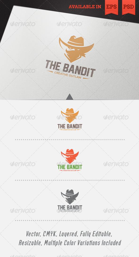 The Bandit Logo Template