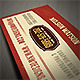Vintage Business Card Template - GraphicRiver Item for Sale