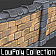 Stone_Wall_Segments_02 - 3DOcean Item for Sale