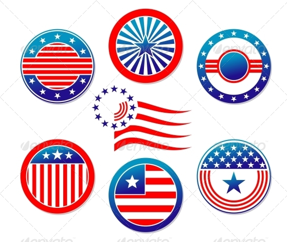 American National Banners and Symbols