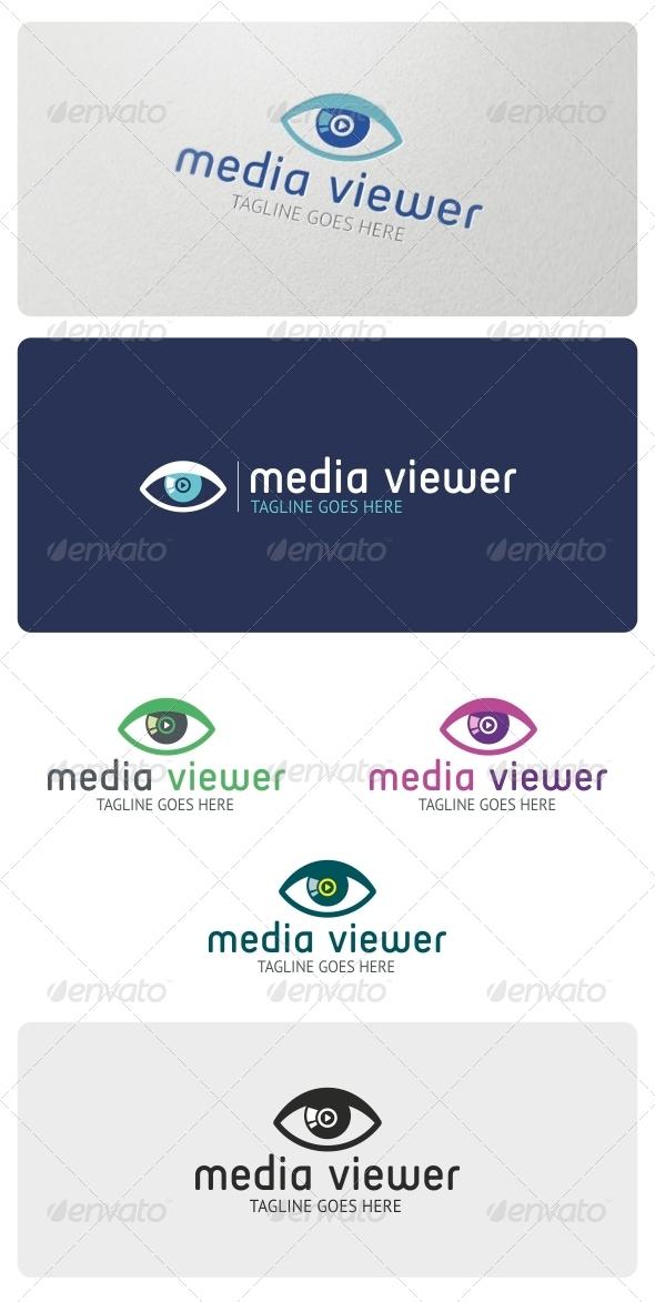 Media Viewer Logo Template