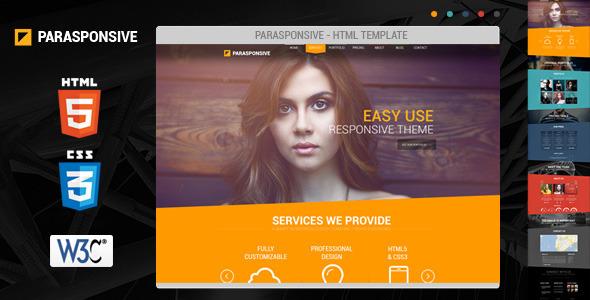 Parasponsive HTML5 / CSS3