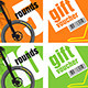 Vector Gift Vouchers Set - GraphicRiver Item for Sale