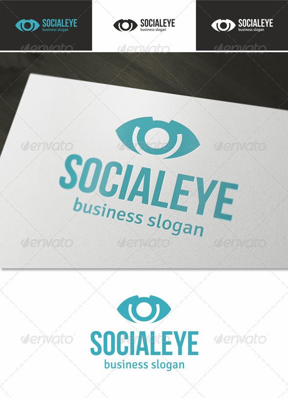 Social Eye Logo