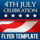 4th Of July - Independence Day Flyer Template - GraphicRiver Item for Sale