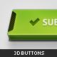 3D Web Buttons - GraphicRiver Item for Sale