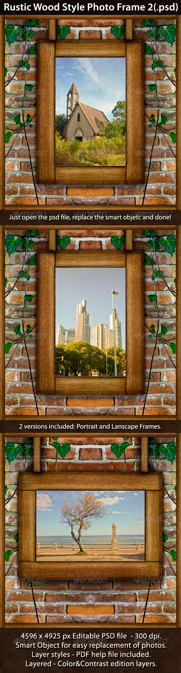 Frame and Nature Photo & Photoshop Templates from GraphicRiver