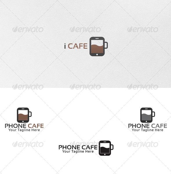 Phone Cafe - Logo Template