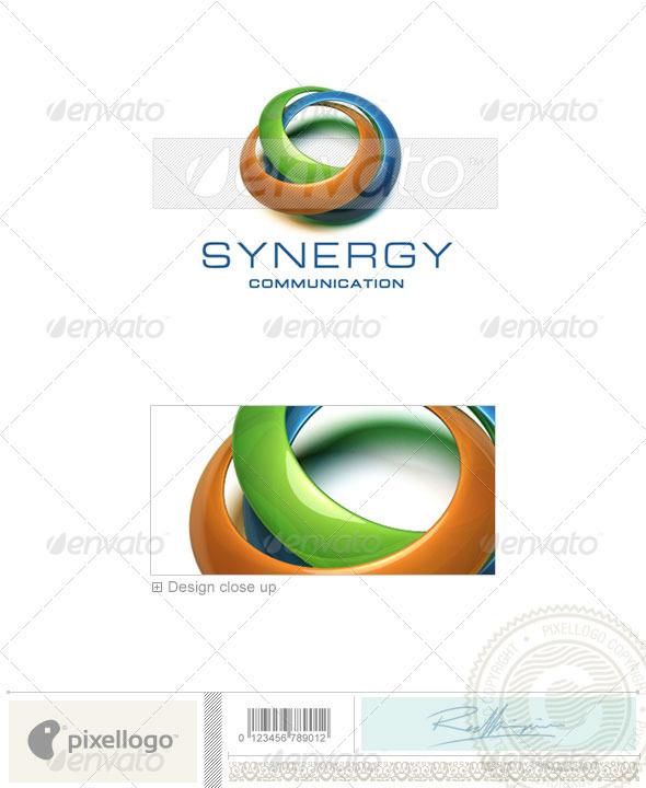 Communications Logo - 3D-229