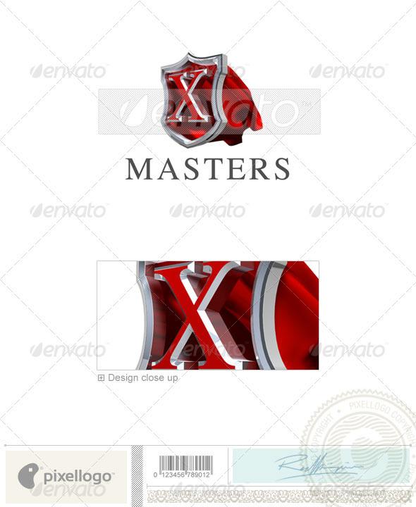 X Logo - 3D-259-X