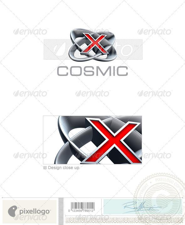 X Logo - 3D-348-X