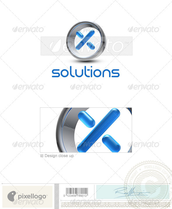 X Logo - 3D-288-X